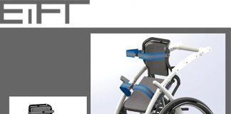 Wózek inwalidzki z funkcją pionizacji