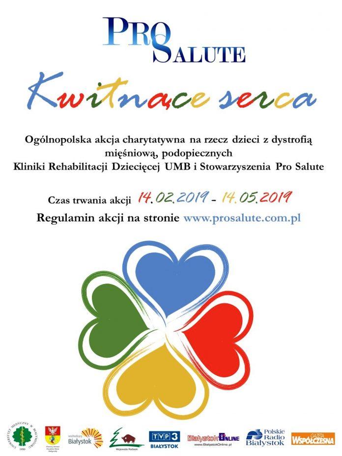Plakat Kwitnące serca