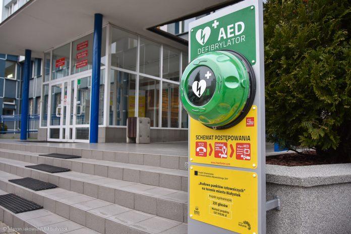 Defibrylatory w Białymstoku