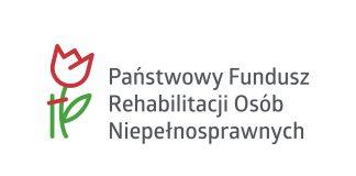 PFRON Państwowy Fundusz Rehabilitacji Osób Niepełnosprawnych logo