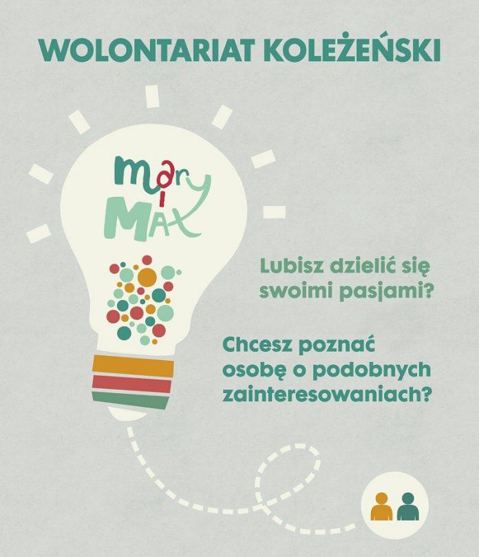 Plakat Wolontariat Koleżeński