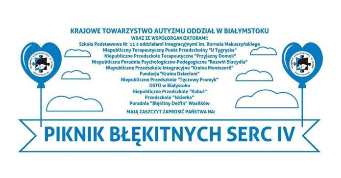 Plakat Piknik Błękitnych Serc