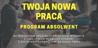 Twoja nowa praca - program Absolwent
