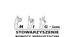 Stowarzyszenie Pomocy Niesłyszącym MIGiem logo